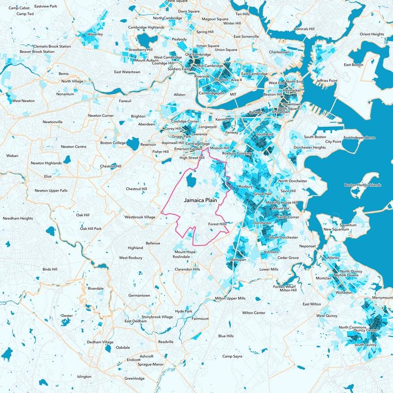 Jamaica Plain Boston Map.Jamaica Plain Neighborhood Guide Boston Ma Trulia