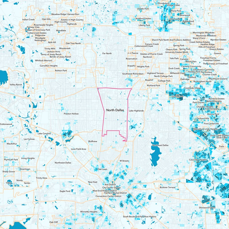North Dallas Neighborhood Guide - Dallas, TX   Trulia on dallas council district map, dallas love map, dallas marathon map, dallas zip codes, dallas apartment map, dallas neighborhoods list, city of dallas map, templeton texas map, dallas regional map, dallas city district map, dallas community map, dallas oak cliff tx map, downtown vancouver neighborhoods map, dallas county map, dallas street map, dallas & surrounding ar4ea map, dallas fire district map, dallas map tx cities, dallas background, dallas town map,