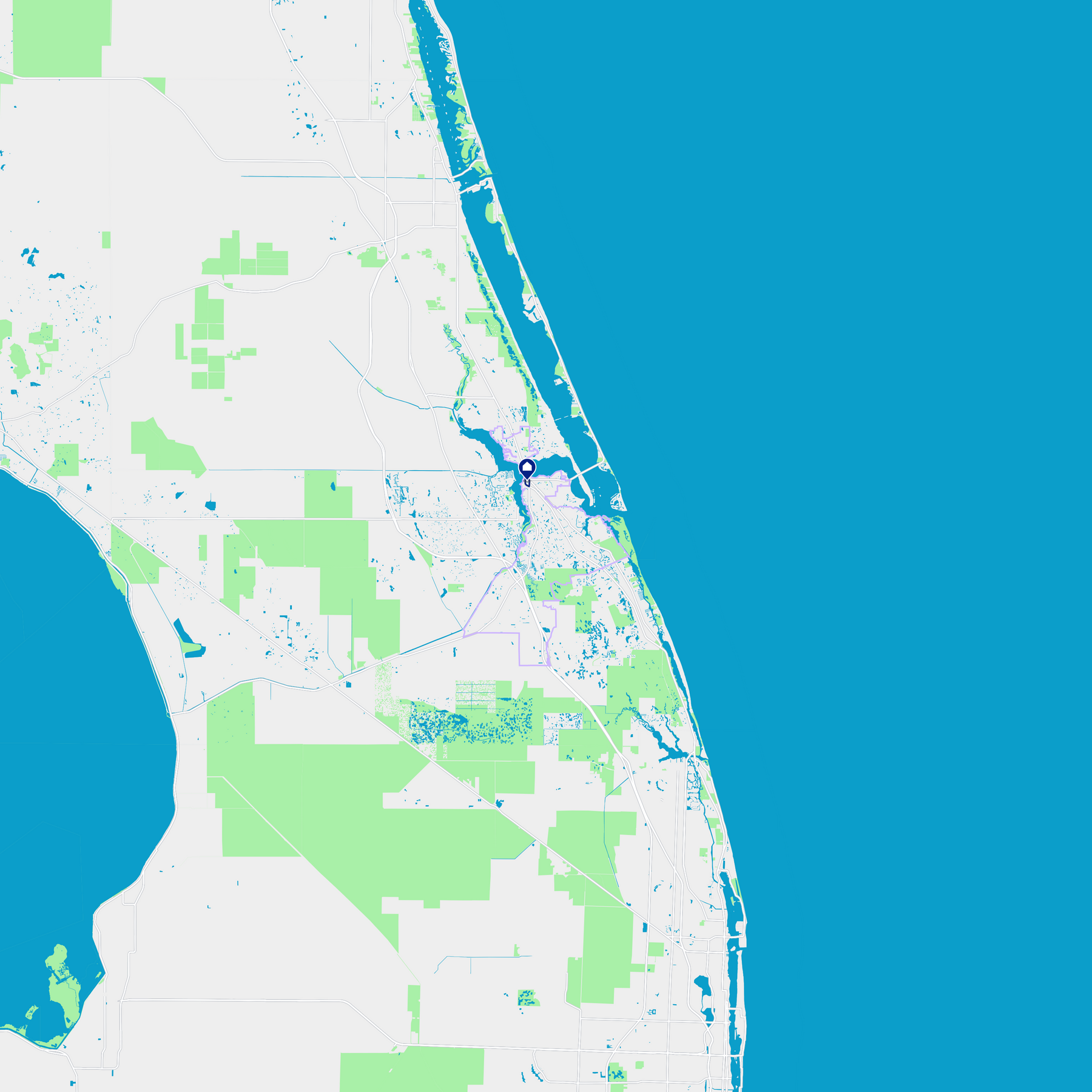 map of stuart florida